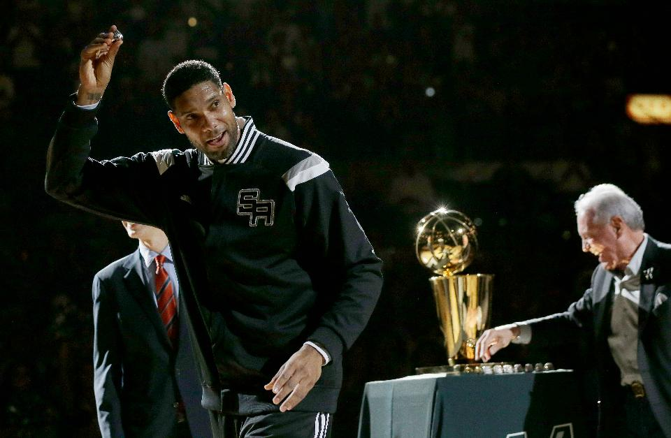 Duncan made the playoffs in all of his 19 seasons with the San Antonio Spurs. (AP Photo/Eric Gay, File)